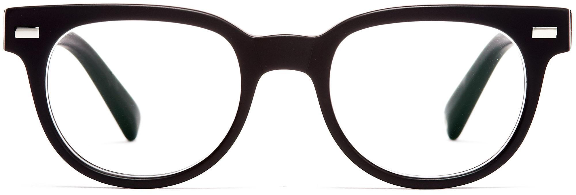 alloptik - Brille schwarz